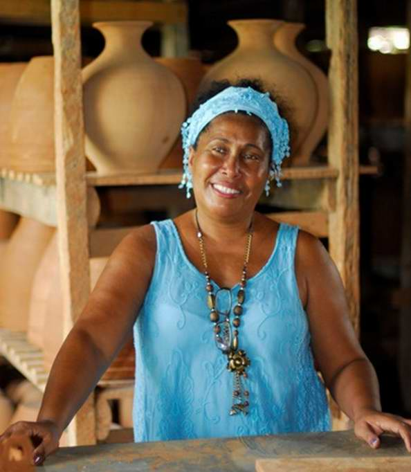 Miriam, un hada de la artesanía. Foto: Raimara García y Luis Pérez