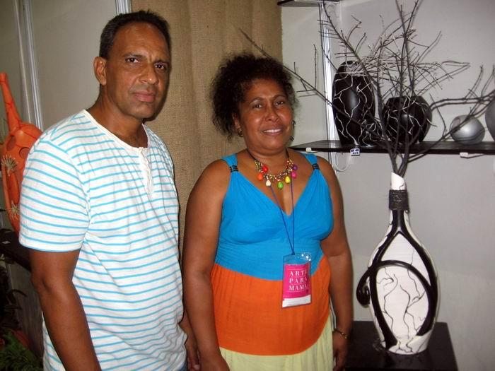 Míriam -creadora junto a su esposo Leo del proyecto Alfibrarte