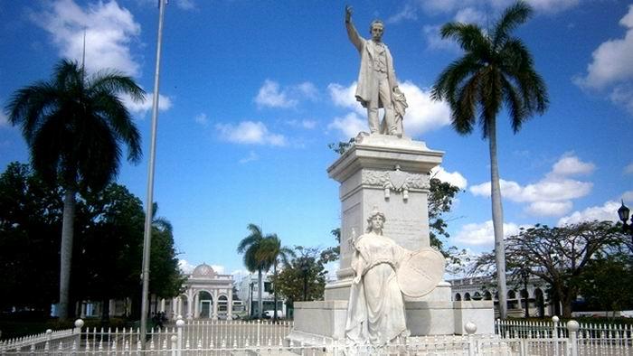 Conjunto escultórico a nuestro Héroe Nacional José Martí. Foto: Mireya Ojeda