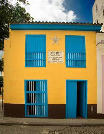 Casa Natal de José Martí en La Habana. Foto Habana Patrimonial