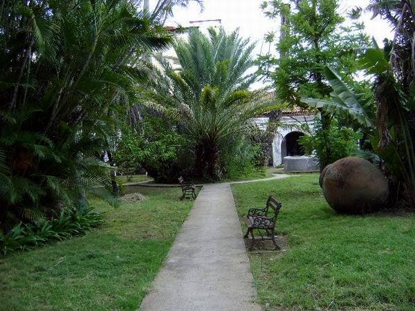 Jardines del Museo Ignacio Agramonte