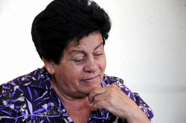 Nemesia, hija del carbonero Liborio Rodríguez. Foto: Dorado