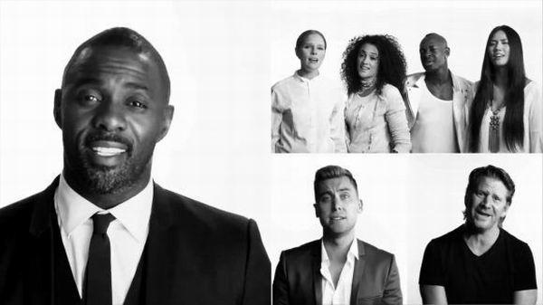 Varias celebridades se unen en una nueva versi�n de Imagine (+Video)