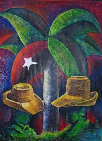 Luz de la Verdad, un regalo de Machuty para Fidel. Foto: Lucía Sanz
