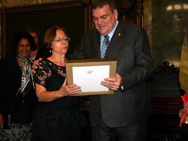 Doctora Oneida Alvarez, Miembro de la Academia de Ciencias de Cuba desde 2005. Foto: Ernesto García Garcell