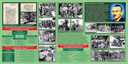 Panel informativo del Compljo Hist�rico del III Frente. Foto Carlos Sanabia