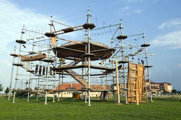 Parque de escalada Kristall Turm en Berlín