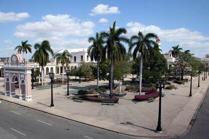 Parque José Martí uno de los escenarios más importantes de los sucesos revolucionarios del 5 de Septiembre de 1957. Foto: Mireya Ojeda