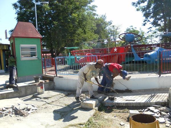 Parque santiaguero con nuevos sue�os