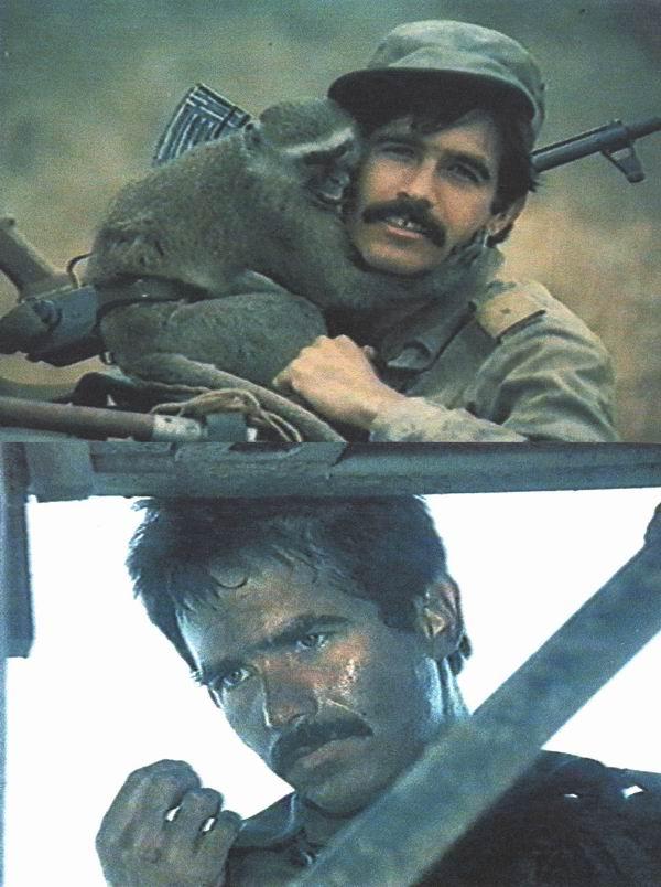 Patricio Wood en el filme cubano  Caravana