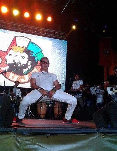 A ritmo de Festival Paulo FG sonó en Las Tunas