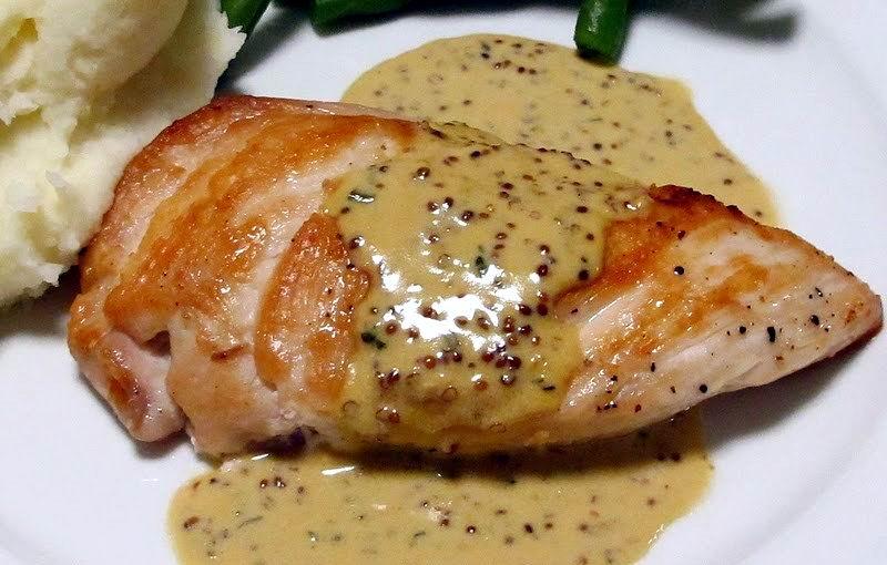 Salsa de mostaza y miel para el pollo