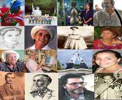 Pinareños ilustres de la cultura cubana