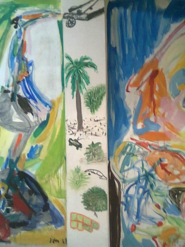 Pintura de Celia Sánchez