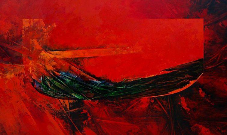 Yellow Verse. Pintura de Gilberto Frómeta