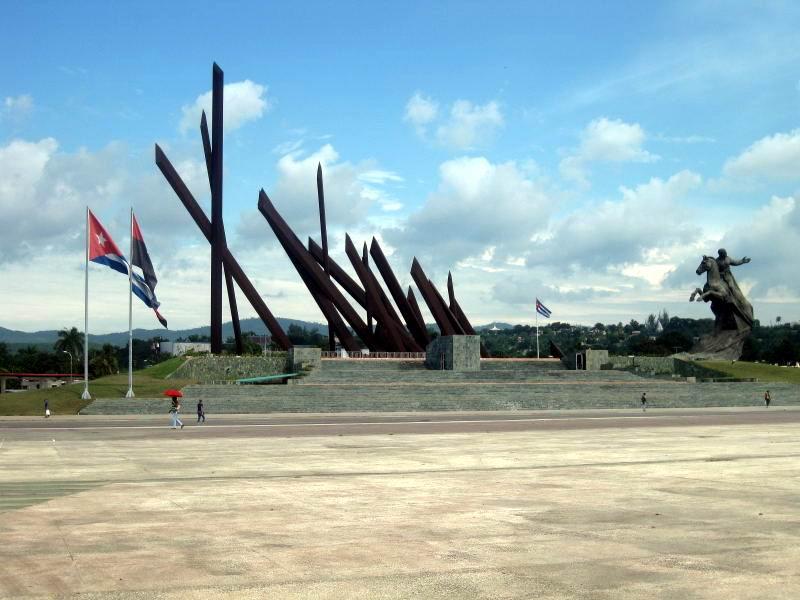 Plaza de la Revolución Antonio Maceo. Foto: Sergio Martínez
