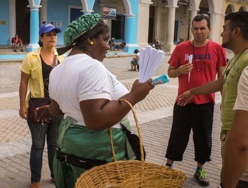 Pregón cubano, canto de mercader