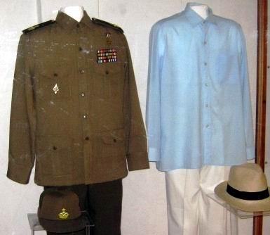 Prendas de vestir del Comandante Juan Almeida Bosque. Foto Carlos Sanabia