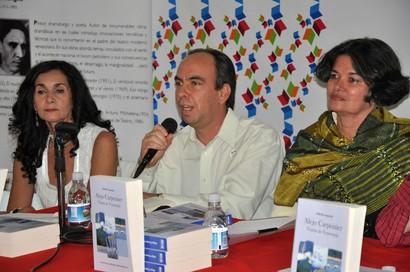 Homenaje a Alejo Carpentier en Caracas