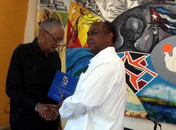 Presentan en la Casa del Alba Cultural libro Conexión Canadá Caribe. Fotos: Mariela Smith