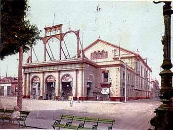 Proceso constructivo del Teatro Tacón