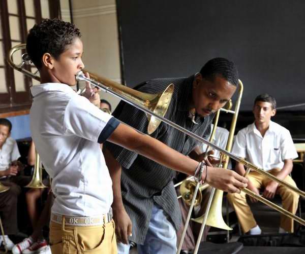 El arte en las escuelas cubanas