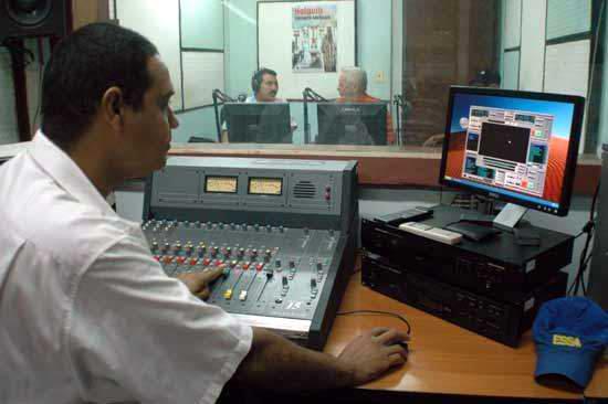 Cabina Radio Angulo