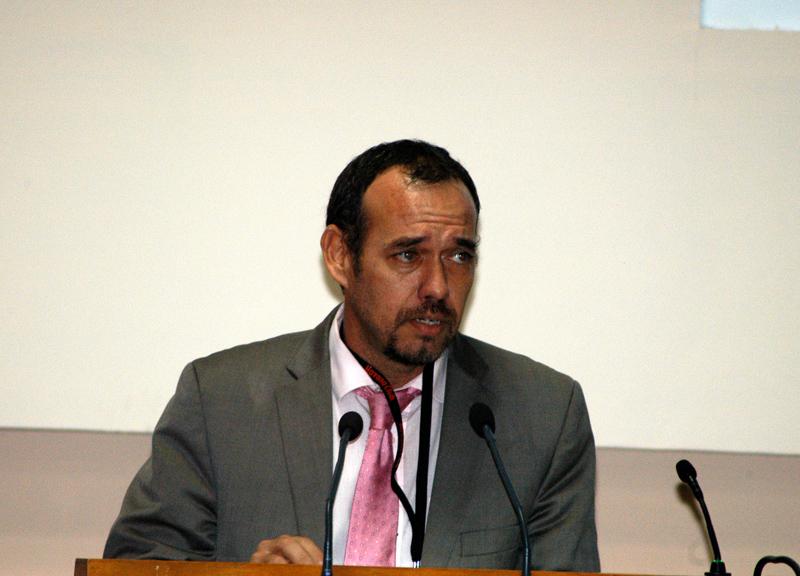 DrC Raúl Garcés Corra, Presidente del Comité Organizador del evento. Fotos: Sergei Montalvo
