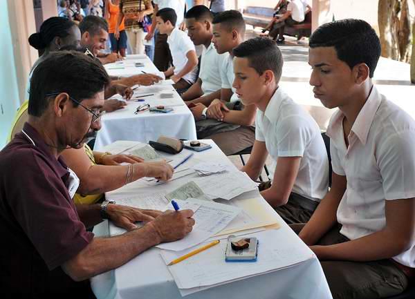 Una etapa esencial para los jóvenes cubanos. Foto Juventud Rebelde