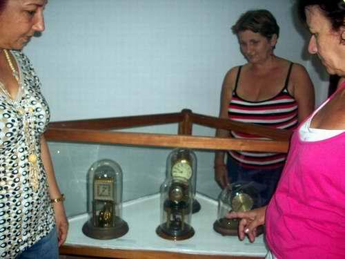 Relojes antiguos en Cienfuegos