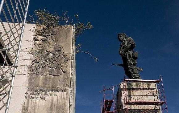 The Refurbished Ernesto Che Guevara Sculptural Complex in Villa Clara