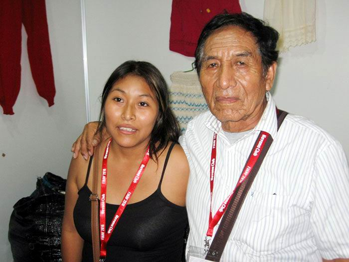 Stand Huayanka de Perú. Foto: Raimara García Velázquez