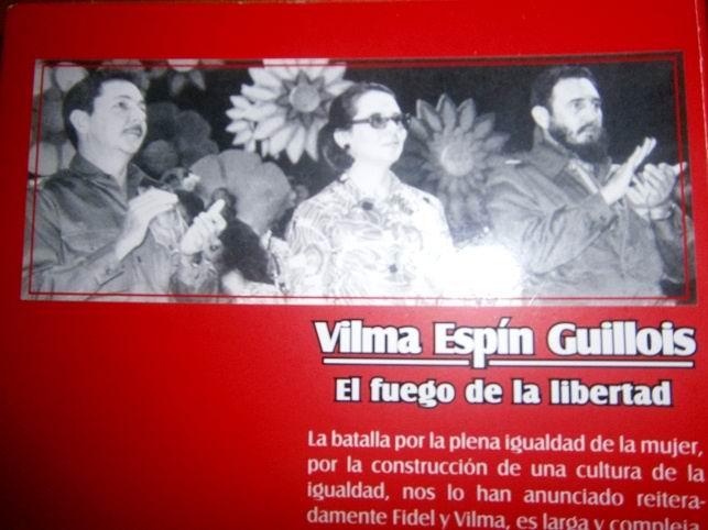 Presentan en Camagüey texto dedicado a Vilma Espín