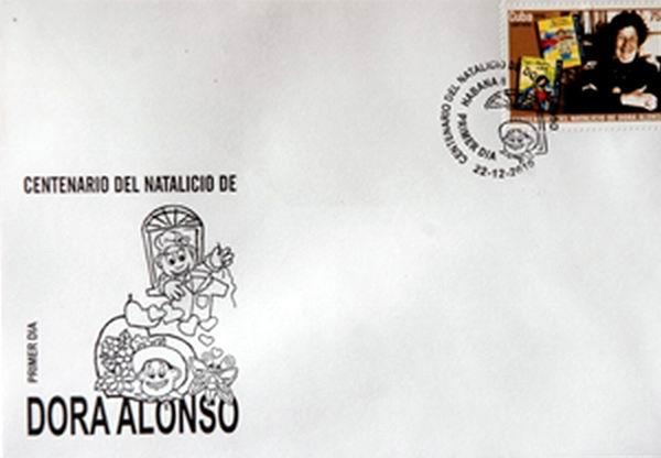 El 22 de diciembre de 2010, día de su cumpleaños cien, la Administración Postal cubana puso a circular un sello de correos