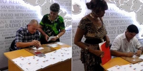 Cancelan sello postal por los 95 años de radio en Cuba