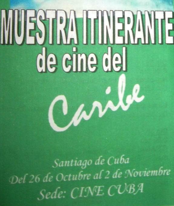 Santiago de Cuba puede ser la sede de la Muestra Itinerante de Cine del Caribe