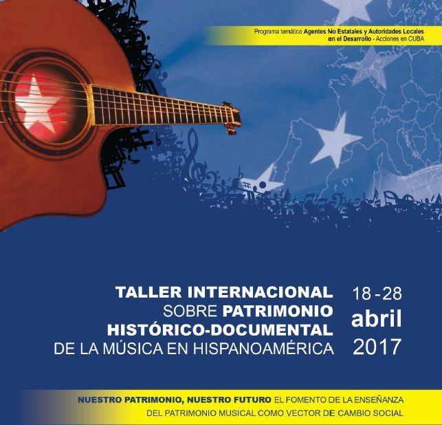 Sesiona en La Habana Taller de Patrimonio Musical