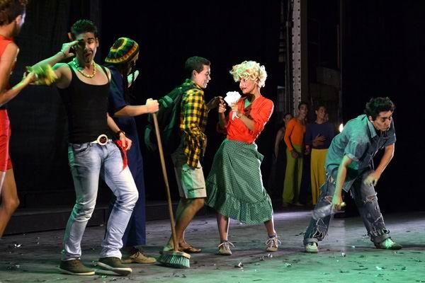 Día Mundial del Teatro. Foto: Abel Rojas Barallobre