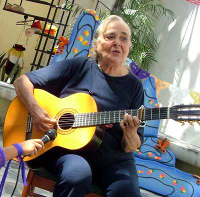 Cantautora Teresita Fernández. Foto Cubahora