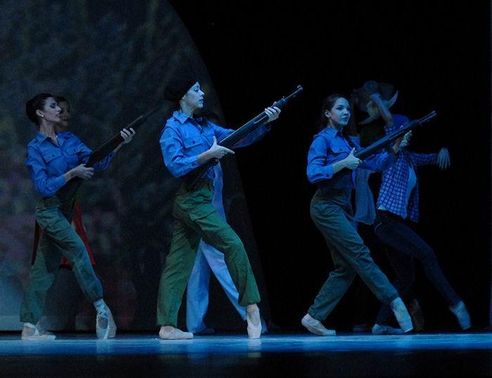 Envía el Ballet Nacional mensaje de felicitación a la FMC por sus 60 años