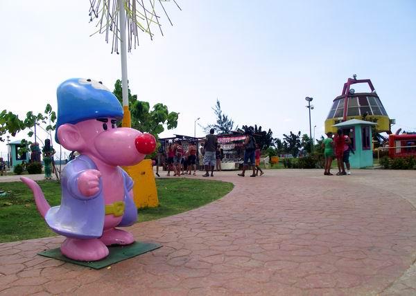Vista del Parque La Isla del Coco
