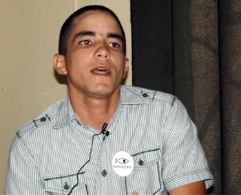 Yadier  Riverón. Foto Miozotis Fabelo Pinares