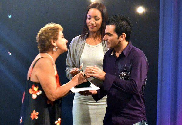 """En Radio el Gran Premio Caracol de Ficción correspondió a """"Las fantasías de Luisito"""", de Yordany Robles Borges, de Radio Nuevitas, de Camagüey. Foto Abel Rojas Barallobre"""