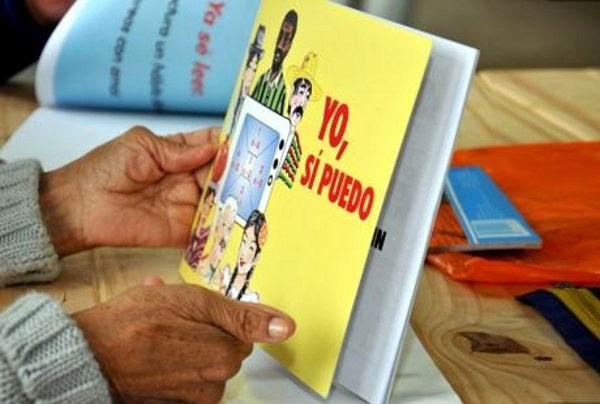 Método cubano de alfabetización Yo sí puedo