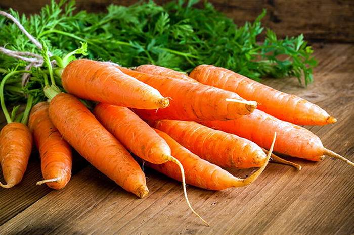 Cuando compre zanahorias