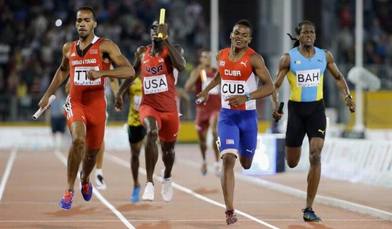 Inesperada plata para Cuba en 4x400 masculino