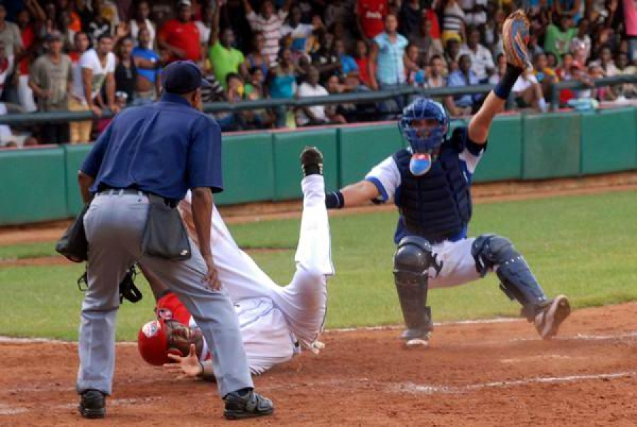 Great game today in Cuban baseball series