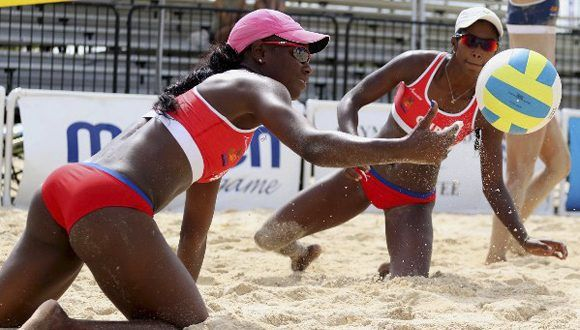 Cuban Women Duo reaches Round of 16 in the World Beach Volleyball Championships