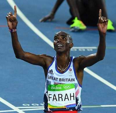 Continúa la leyenda de Mo Farah: se impuso en 10 000