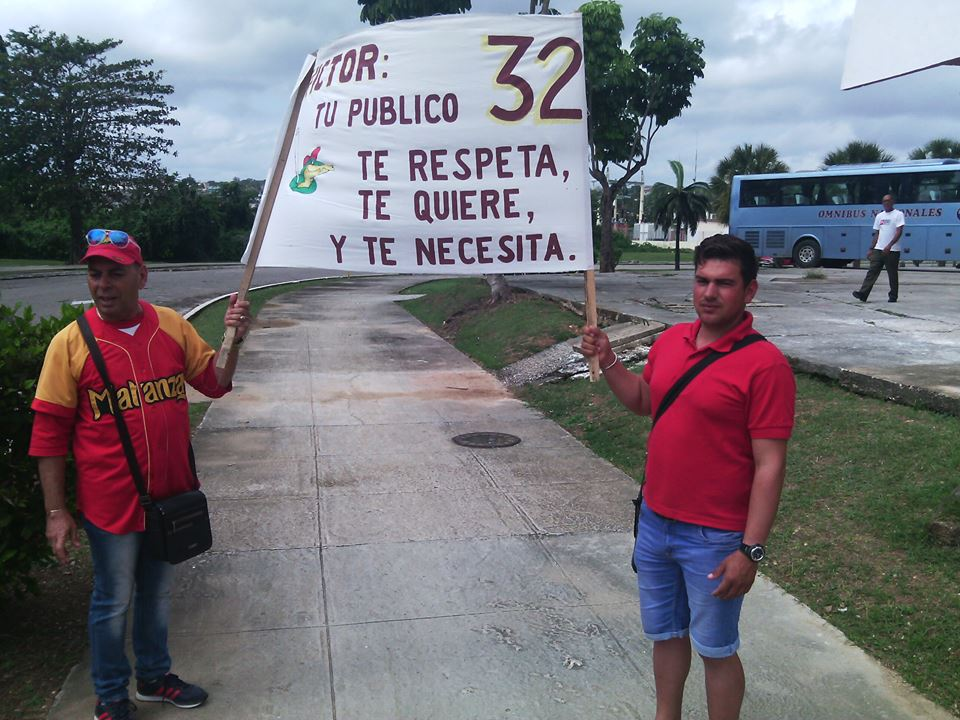 Aficionados de Matanzas. Foto: Yirsandy Rodríguez